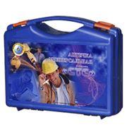 Аптечка универсальная (синий чемодан) фото