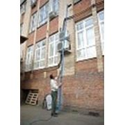 Аппарат для мытья фасадов, окон, вывесок фото