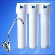 3-ступенчатые стационарные фильтры с отдельным краном, АКВАФОР Кристалл фото