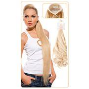 Хвост составной из натуральных волос фото