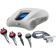 Аппарат для кавитации радиолифтинга роликового массажа с сенсорным дисплеем SUM-6048 фото