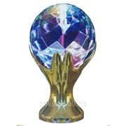 Светодиодный шар на подставке фото