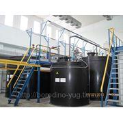 Емкость (резервуар) подземного хранения (ГСМ,для нефтепродуктов, топливный,для аммиака) из полиэтилена фото