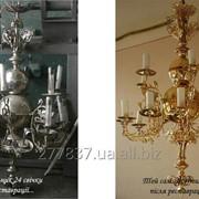 Реставрація церковних світильників та іншої церковної утварі фото