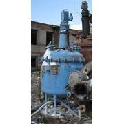 Реактор эмалированный 1м3 фото