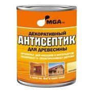 Стройматериалы Декоративные АНТИСЕПТИКИ для древесины MGA фото