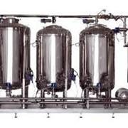 Оборудование в линию розлива вино-водочных изделий и пищевых жидкостей фото