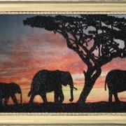 Наборы для вышивания бисером Слоники фото