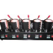 Термотрансферный пресс на 5 чашек фото