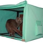 Выставочная клетка-палатка для кошек, город Алматы фото