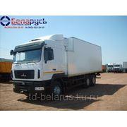 рефрижератор изотермический фургон с холодильной установкой CARRIER Supra 750S на шасси МАЗ-6312А9 фото