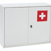 Аптечка Office-Force двухстворчатая, 450*150*360 мм, светло-серый фото