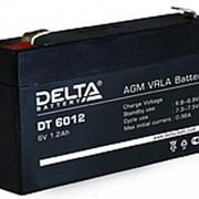Delta DT 6012 Свинцово-кислотный аккумулятор фото