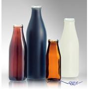 Окрашивание бутылок под молоко, соки и другие пищевые жидкости фото