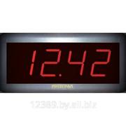 Часы электронные настенные ИНТЕГРАЛ ЧЭН-08 фото