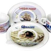 Декорирование керамической посуды фото