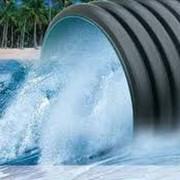 Строительство водопроводных и канализационных сетей. фото