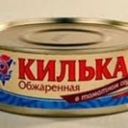 Кильки в томатном соусе фото