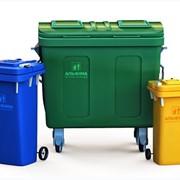 Дэпо-контейнеры системы Грумбах для отходов фото