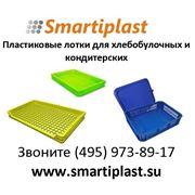 Пластиковые лотки под пирожное для хлебобулочных изделий фото