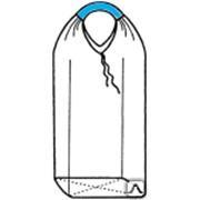 Одностропные и двухстропные мягкие контейнеры Биг-бэг (МКР) 60х60х200, 1 стропа, плотность 220г/м2 фото