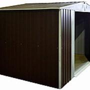 Металлический сарай Barnas 3х2м фото