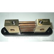 Шунт измерительный 500А Prosolar SH-500 фото