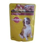 Корм для собак Pedigree Говядина в соусе фото