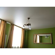 Натяжные потолки из сатина фото