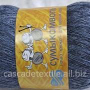 Пряжа 800 серо-голубой (м) фото