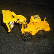 Трактор (экскаватор) в пакете 1316 14х6см фото