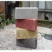 Кирпич строительный (серый и цветной) от производителя - продажа фото