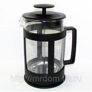 Кофейник мв 0,8л с поршнем стекл/колба (х30) (805468)