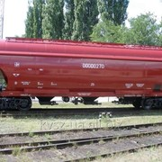 Вагон-хоппер для перевозки зерна модель 19-7017-04 фото