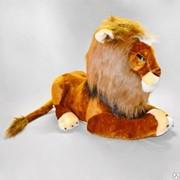 Детская мягкая игрушка лев Карл фото
