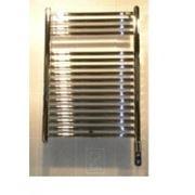 Электрические полотенцесушители Zehnder TEC 070-050-DF, хром (Хром) фото