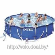 Бассейн каркасный Intex 56946 Metal Frame Pools 457*122см фото