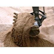Песок мелкий строительный фракции 016-20 фото