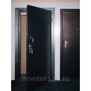 Металлическая утепленная дверь 940 х 2020 фото