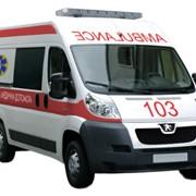 Скорая медицинская помощь на базе автомобиля Peugeot Boxer фото