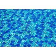 Стеклянная мозаика для бассейна фото