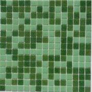 Стеклянная мозаика настенная фото