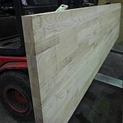 Дуб Щит мебельный Срощенный 40 мм фото