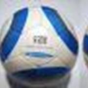68-2012 Мяч футбольный. Материал: кожа (ПУ), глянцевая. фото