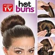 Резинка-валик Hot buns,заколка для создания причеси Hot buns фото