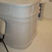 Дизайнерская мебель из искусственного камня фото