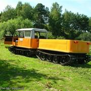 Двухзвенный гусеничный транспортёр малогабаритный ДТМ-081 фото