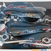 Защита на руль мотоцикла усиленный тип титан Accel Taiwan фото