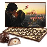 Этикетка на коробку конфет фото