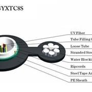 Оптический кабель Gyxtc8s Optical Cablegyxtc8s фото